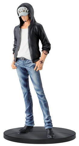 "Banpresto One Piece Trafalgar Law Figure B (Blue Jeans), Jeans Freak Series Volume 4, 7.1"" - Super Anime Store FREE SHIPPING FAST SHIPPING USA"