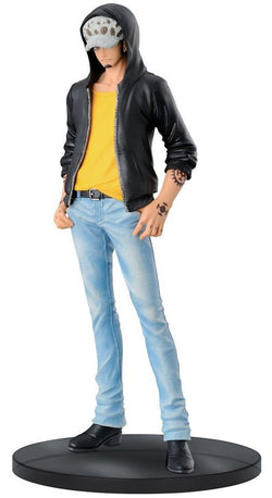 "Banpresto One Piece Trafalgar Law Figure A (Light Blue Jeans), Jeans Freak Series Volume 4, 7.1"" - Super Anime Store FREE SHIPPING FAST SHIPPING USA"