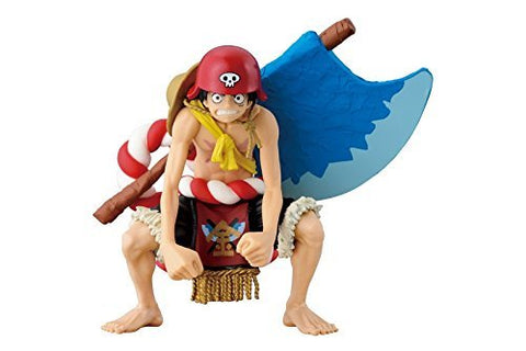BANPRESTO ONE PIECE FILM GOLD SCultures BIG Luffy PVC Figure Champion 2015 - Super Anime Store FREE SHIPPING FAST SHIPPING USA