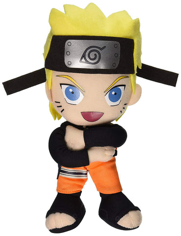 "Great Eastern Official Naruto Shippuden: Naruto 9"" Plush Doll - Super Anime Store FREE SHIPPING FAST SHIPPING USA"