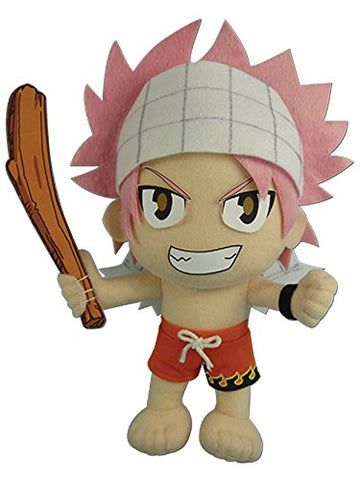 "Great Eastern Fairy Tail Swimsuit Natsu Dragneel Plush Doll 9"" - Super Anime Store FREE SHIPPING FAST SHIPPING USA"
