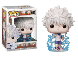 Funko POP 654 Anime: Hunter x Hunter - Killua Zoldyck Figure Super Anime Store