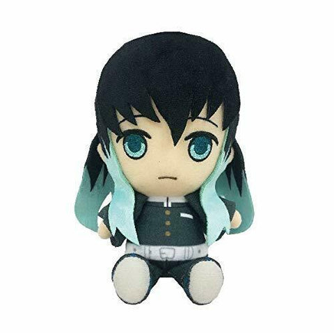 Bandai Demon Slayer Kimetsu no Yaiba Chibi Plush - Tokito Muichiro - Super Anime Store FREE SHIPPING FAST SHIPPING USA