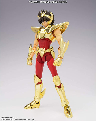 Bandai Saint Cloth Myth EX Pegasus Seiya (Newly Born Saint Cloth) ~ Golden Limited Edition Figure ~ - Super Anime Store FREE SHIPPING FAST SHIPPING USA
