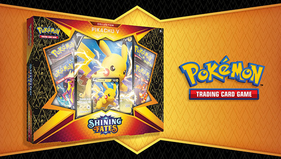Pokémon TCG: Shining Fates Collection- Pikachu V Box Super Anime Store