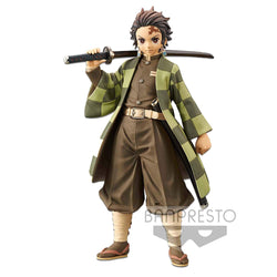 Demon Slayer Tanjiro Kamado Banpresto Figure Vol. 2 - Super Anime Store FREE SHIPPING FAST SHIPPING USA