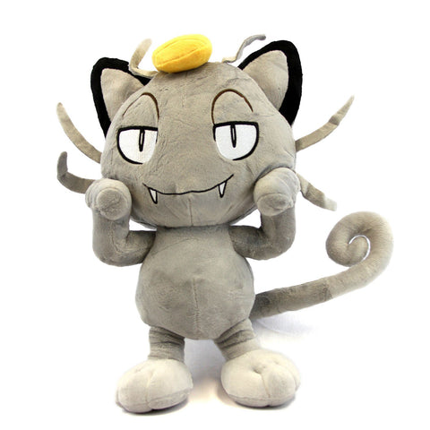Alolan Meowth Plush Doll - Super Anime Store FREE SHIPPING FAST SHIPPING USA