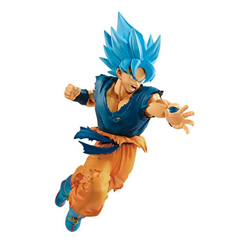 Dragon Ball Super: Broly Ultimate Soldiers The Movie 2 Goku God Figure - Super Anime Store FREE SHIPPING FAST SHIPPING USA