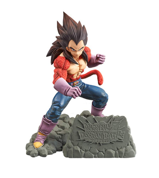 Banpresto Dragonball Z Dokkan Battle 4th Anniversary Super Saiyan 4 Vegeta Figure - Super Anime Store FREE SHIPPING FAST SHIPPING USA
