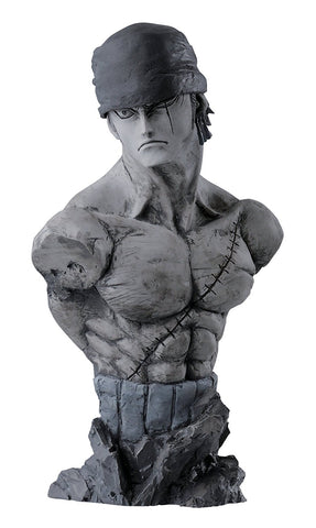 Banpresto One Piece 6.3-Inch Creator x Creator Rough Edges Roronoa Zoro Bust A - Super Anime Store FREE SHIPPING FAST SHIPPING USA