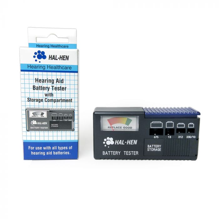 Hal-Hen Hearing Aid Battery Tester