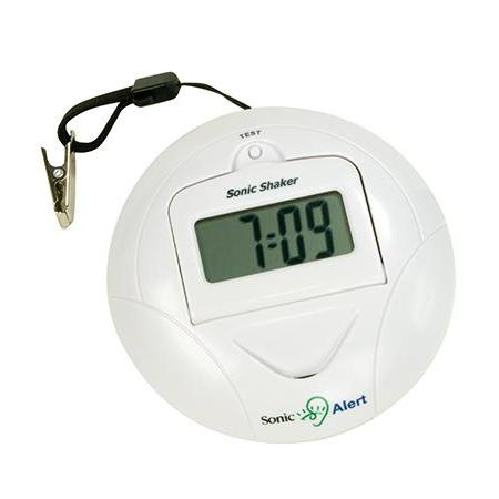 Sonic SBP100 Travel Vibrating Alarm Clock