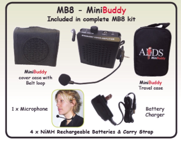 MiniBuddy Voice Amplifier with Microphone