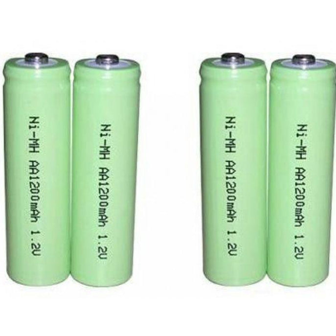 "Serene CentralAlert CA-BP Pack of 4 ""AA"" Rechargeable Batteries"