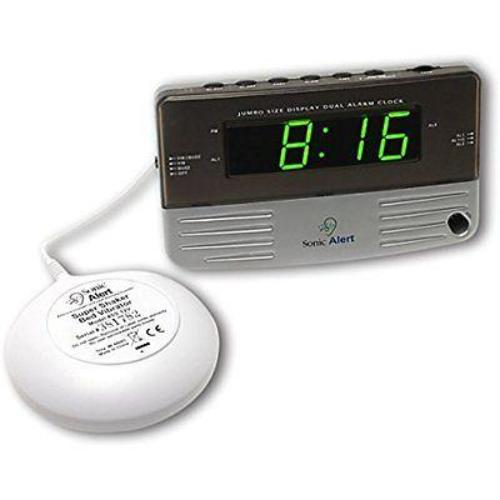Sonic SB200SS Alarm Clock with Bed Shaker