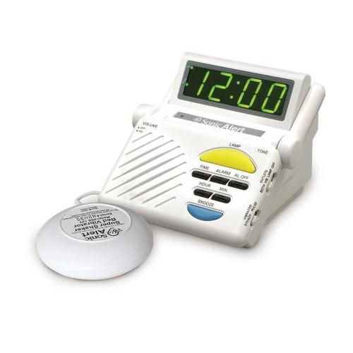 Sonic SB1000SS Alarm Clock with Bed Shaker