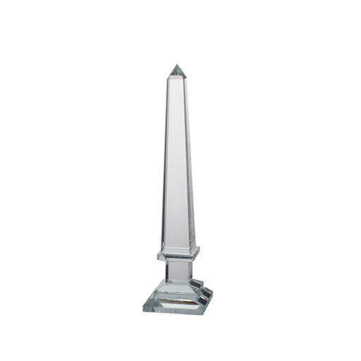 CRYSTAL OBELISK ACCENT