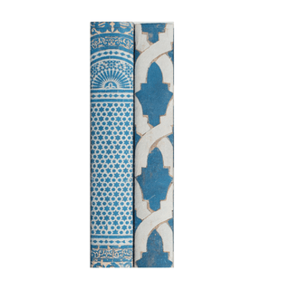Individual Product - ALHAMBRA DECORATIVE BOOKS TWO VOLUME SET <br>Blue/White Mosaic, Blue/White Braid