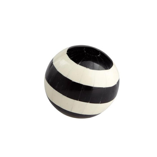 Individual Product - BLACK & WHITE DECORATIVE INLAID SPHERE