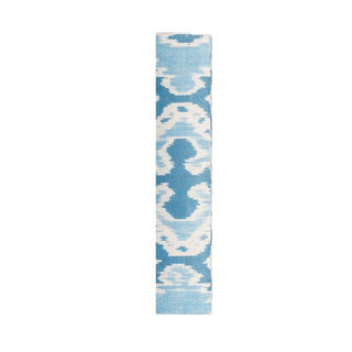 Individual Product - BLUE AND WHITE IKAT PATTERN DECORATIVE BOOKS