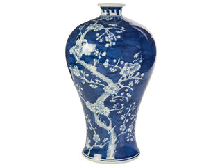Individual Product - BLUE & WHITE CHERRY BLOSSOM VASE