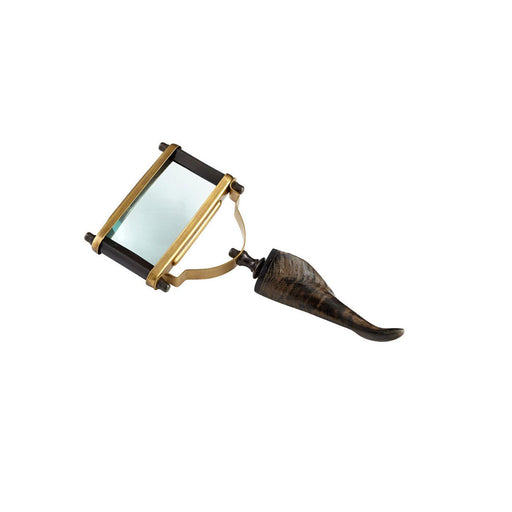 Individual Product - BRASS & HORN MAGNIFYING GLASS