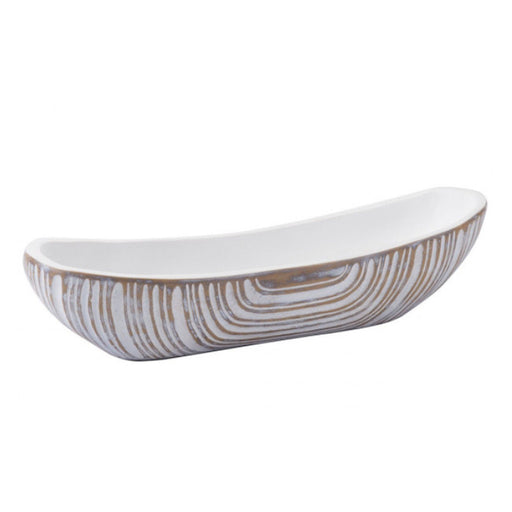 Individual Product - FAUX BOIS DECORATIVE BOWL