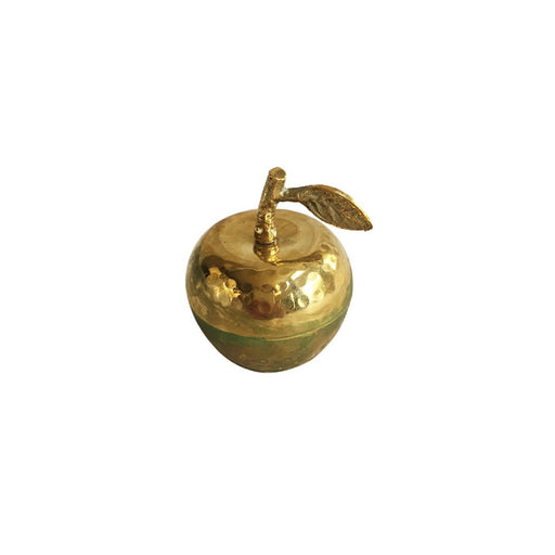 Individual Product - GOLD APPLE DECORATIVE CANDLE