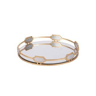 Individual Product - GOLD MIRRORED TRAY