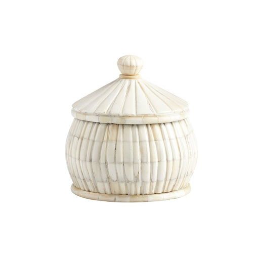 Individual Product - IVORY BONE KEEPSAKE JAR