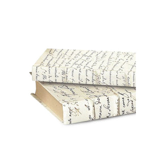 Individual Product - IVORY SCRIPT DECORATIVE BOOKS