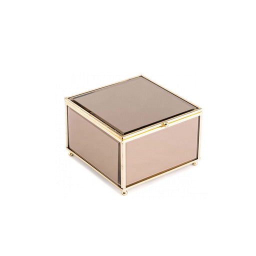 Individual Product - MEDIUM BRONZE AND GOLD MIRRORED BOX