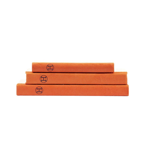 Individual Product - ORANGE DECORATIVE BOOKS (SET OF 3)