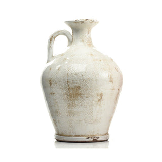 Individual Product - WHITE DISTRESSED MARKET VASE
