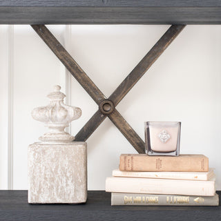 Sets - LEWES 6 PC SET <br>Finial Bookends, Candle, Books