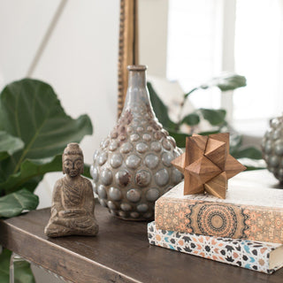 Sets - MAURITIUS 5 PC SETS <br>Vase, Buddha, Wooden Star, Books