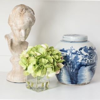Sets - MONTAUK 3 PC SET <br>Stone Bust Sculpture, Vase, Keepsake Box