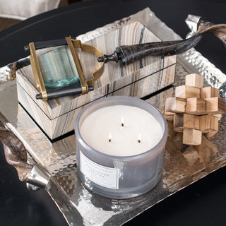 Sets - OMO 5 PC SET <br>Tray, Magnifying Glass, Box, Puzzle, Candle