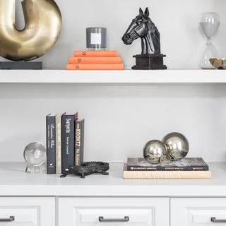 Sets - REFINED MASCULINE 3 SET BOOKSHELF <br>Full Bookshelf & Indv Sets