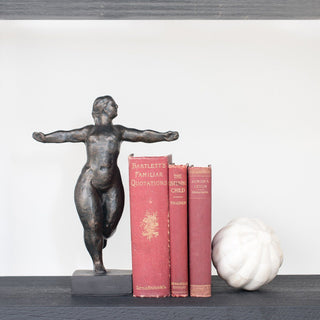 Sets - WINDSOR 3 PC SET <br>Dancer Sculpture, Books, Sphere