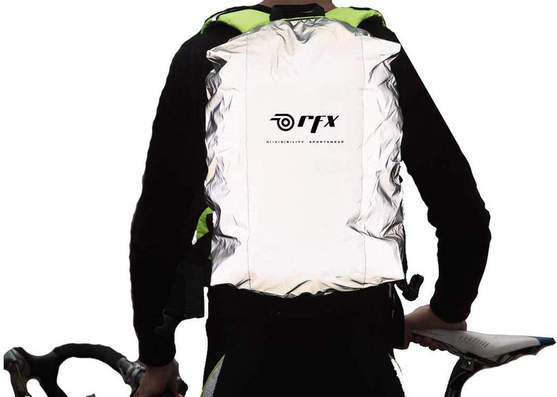Cubre Mochila Impermeable/Reflejante RFX Safety First - Transvision Bike