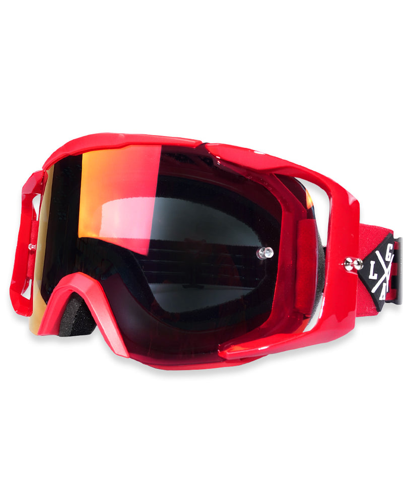 Copia de Copia de Googles Loose Riders Rojos - Transvision Bike
