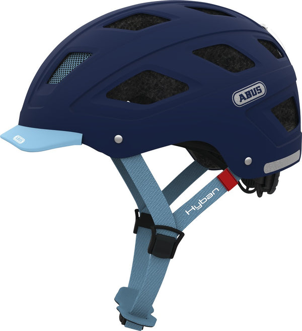 Casco ABUS Hyban Core - Transvision Bike