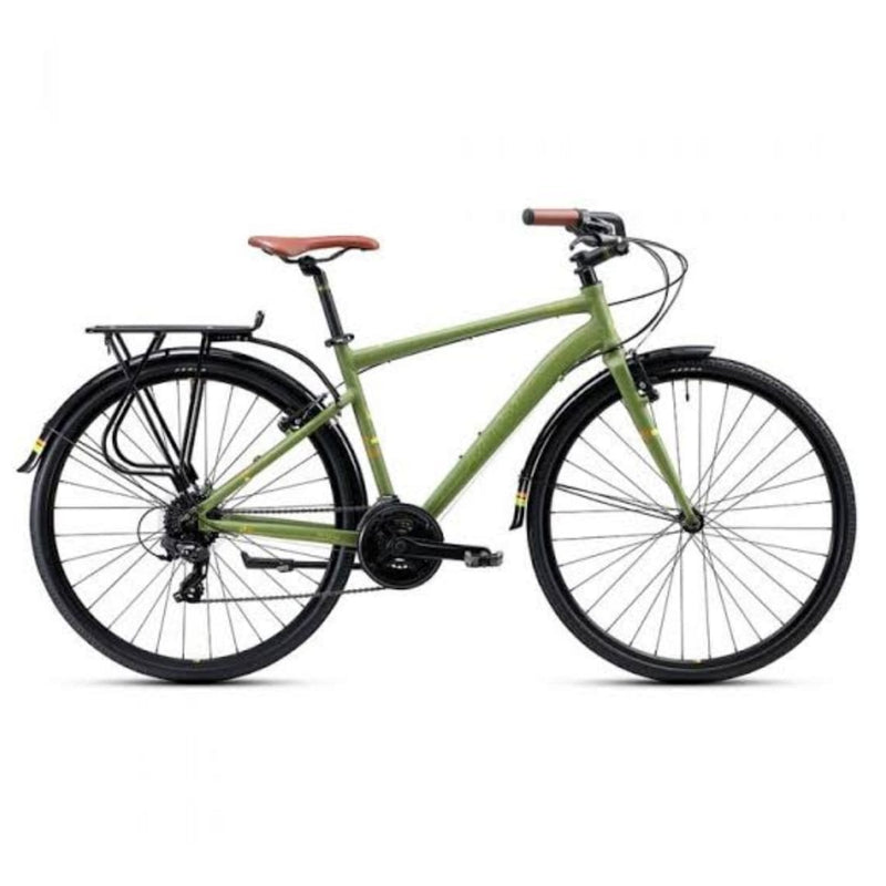 Bicicleta Urbana Alubike City Spicy Adventure - Transvision Bike