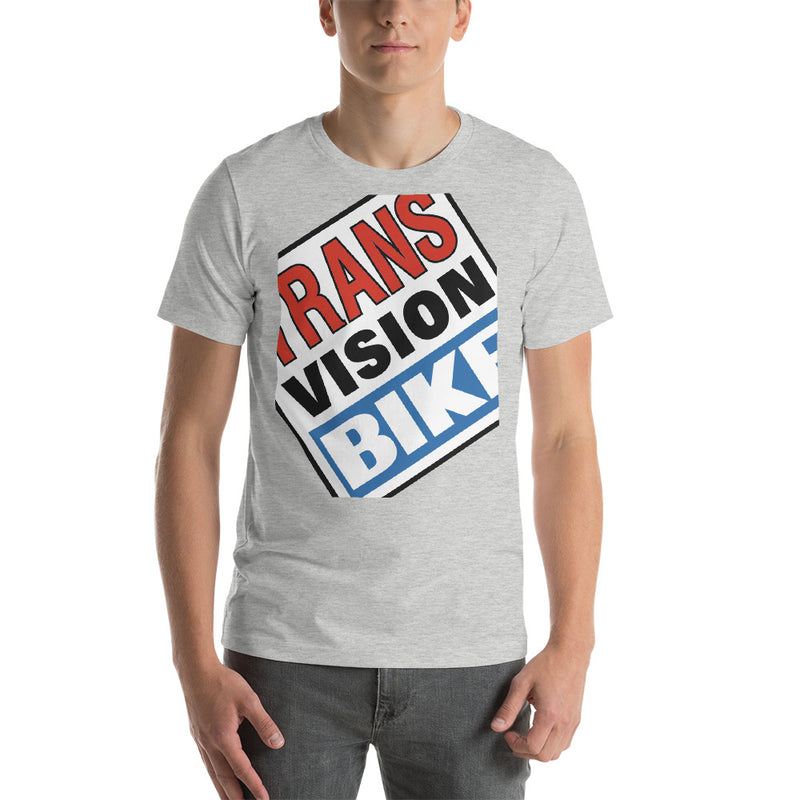 Transvision Bike Too Big Playera de Hombre - Transvision Bike