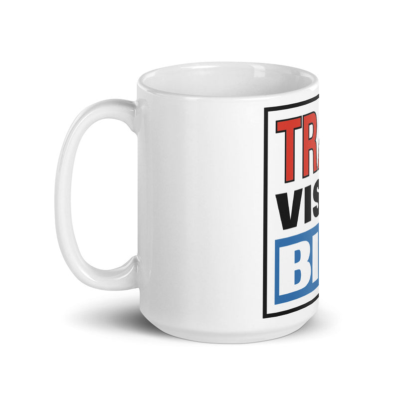 Transvision Bike Too Big Taza de Café - Transvision Bike