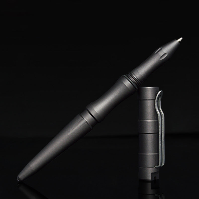 Steel Tactical Pen w/ Tungsten Striking Tip - Moment at Hand