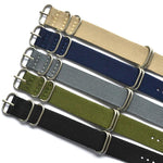 Nylon Zulu Straps in 18, 20, 22 and 24mm - Moment at Hand