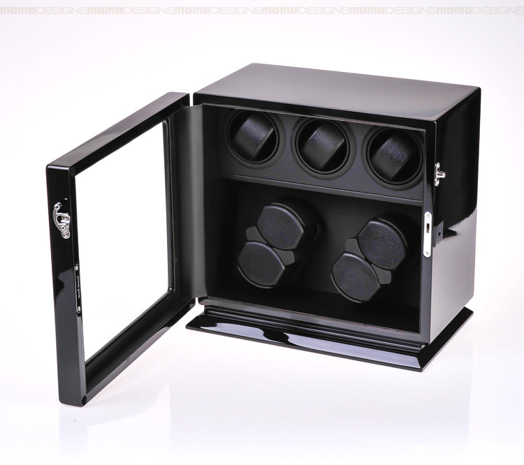 Momo Designs 7 Piece Watch Winder Display Case - Moment at Hand