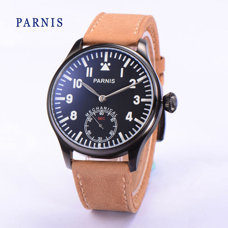 PARNIS Aviator ST-KKT 41mm Mechanical - Moment at Hand
